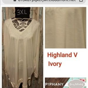 Sweaters - Piphany Highland -V Sweater